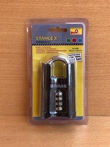 Hangslot Stahlex cijfercode (4) 50mm.