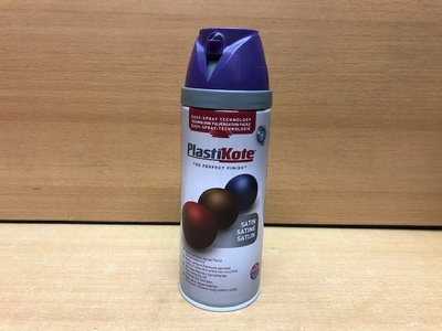 Spuitbus Plastikote Satin Purple 400ml.